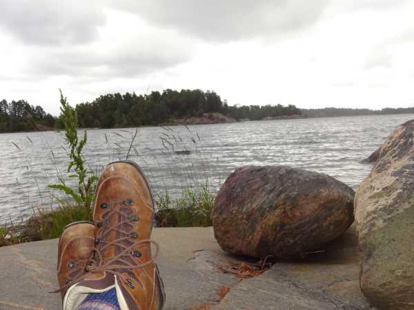 Wandern im NAturreservat Eknö