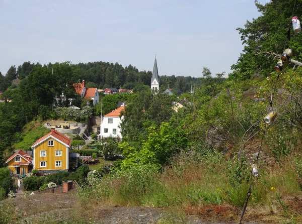 Aussichtspunkt über Valdemarsvik