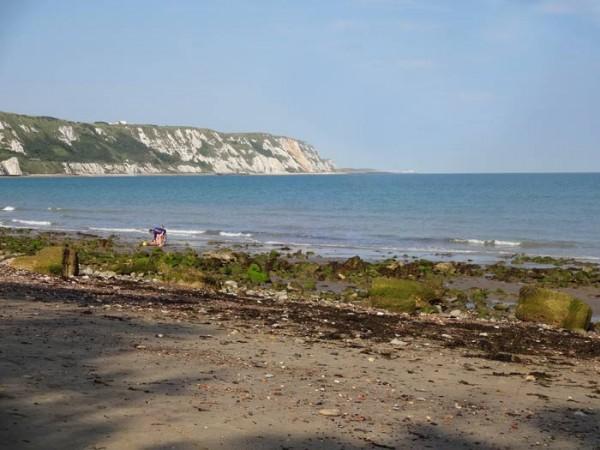 Blick-zu-den-Klippen-von-Dover