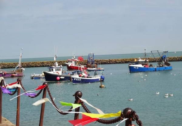 Folkestone-Fischerhafen