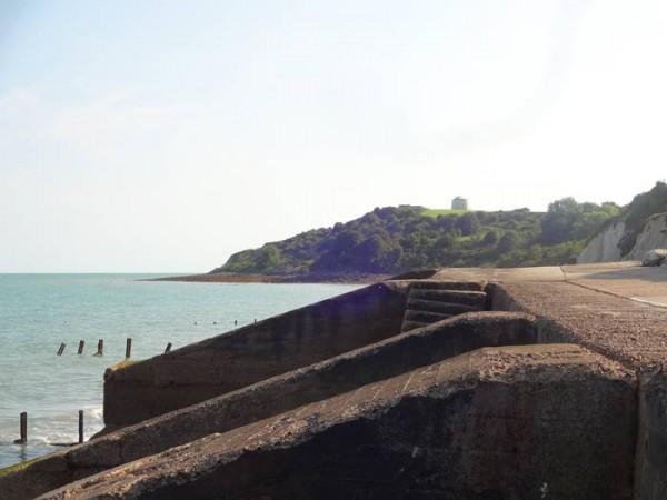 Folkestone-Uferbefestigung