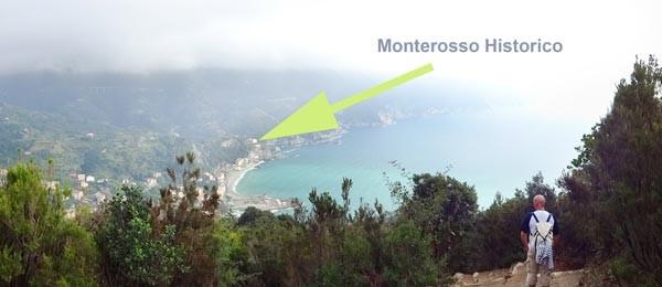 Blick auf Monterosso