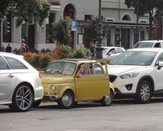 Fiat 500 in Triest