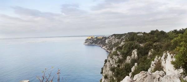 Der Rilke-Weg am Golf von Triest: Kreidefelsen, Meer & Wandern