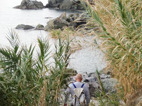 5 Terre: Am Wasser bei Levanto