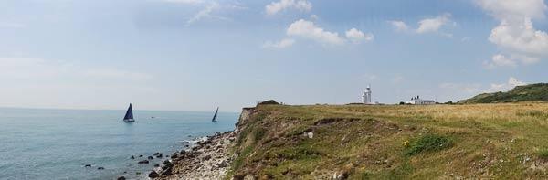 St. Cathrins Point - der südlichste Zipfel der Isle of Wight