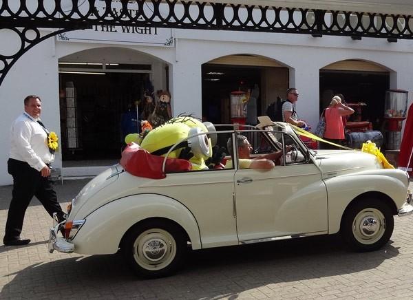 Auch Minions sind klassisch unterwegs ...