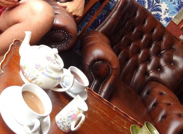 It´s tea time auf der Isle of Wight