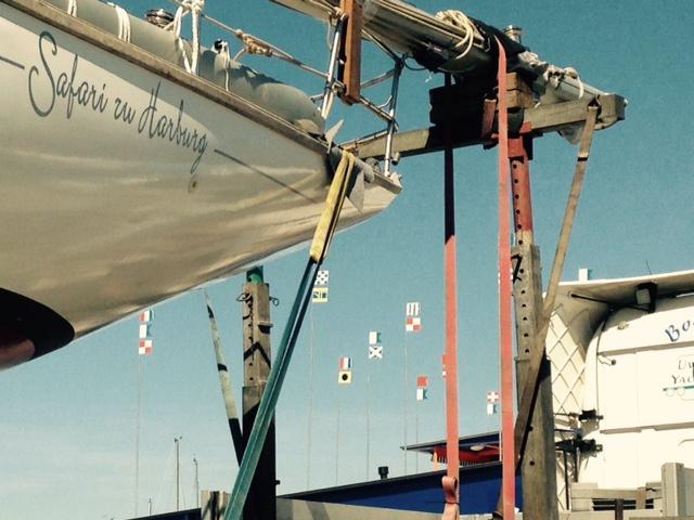 Schiffstransport quer durch die Republik: Langenargen - Barth