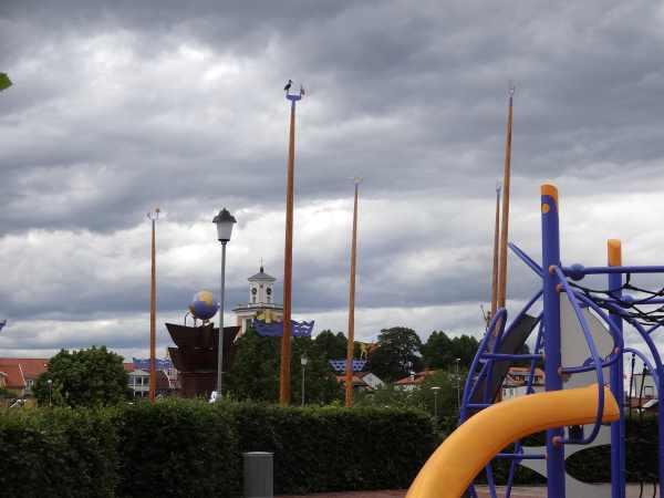 Spiel- und Erholungspark in Mönsteras