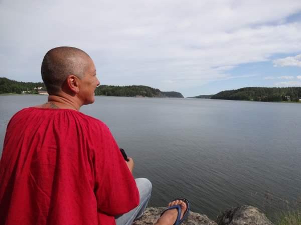 Aussicht in den Fjord