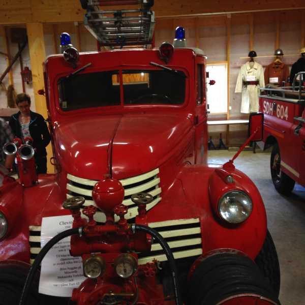 Modernes Feuerwehr- Gerät aus den 50ern