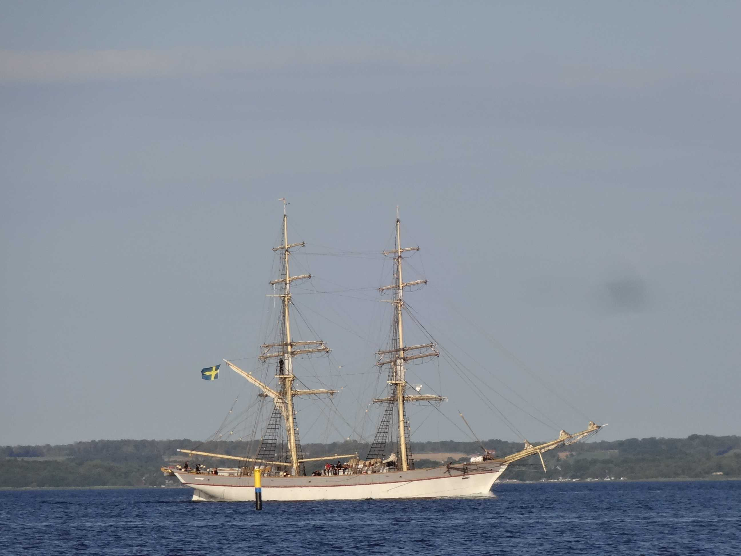 Seefahrer-Romantik auf der Brigg