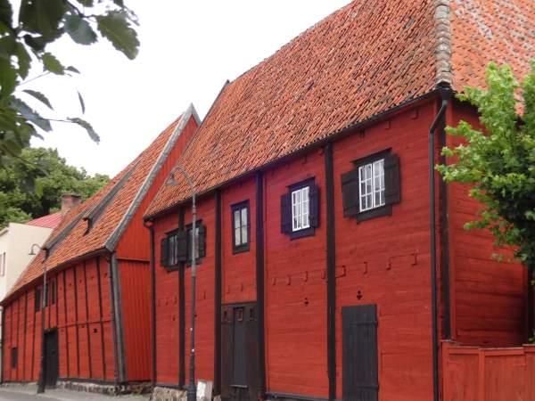 Ältestes Gebäude der Stadt: das Speicherhaus von Karlshamn