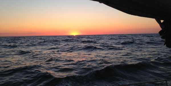 Sonnenaufgang um 16.20 Uhr .... endlich ...