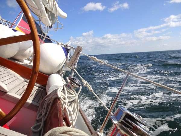 Blick zurück in Kalmarsund