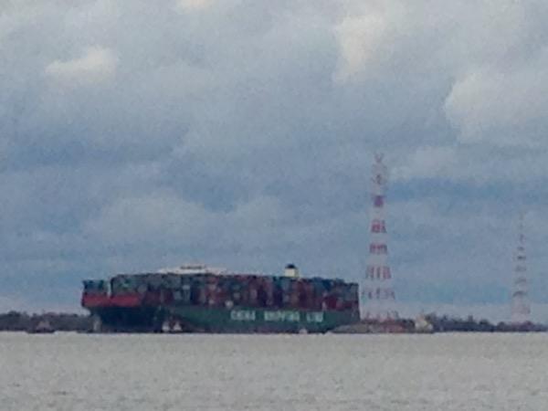 Gewitterstimmung in Hamburg am Hafen